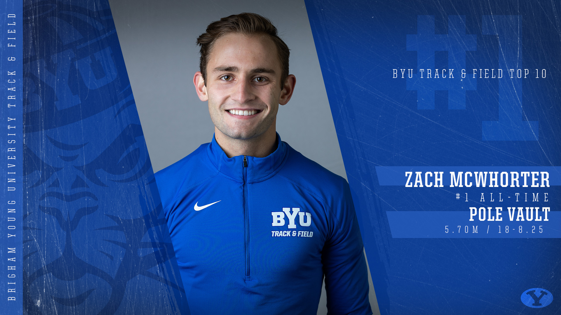 Zach McWhorter School Record - Graphic