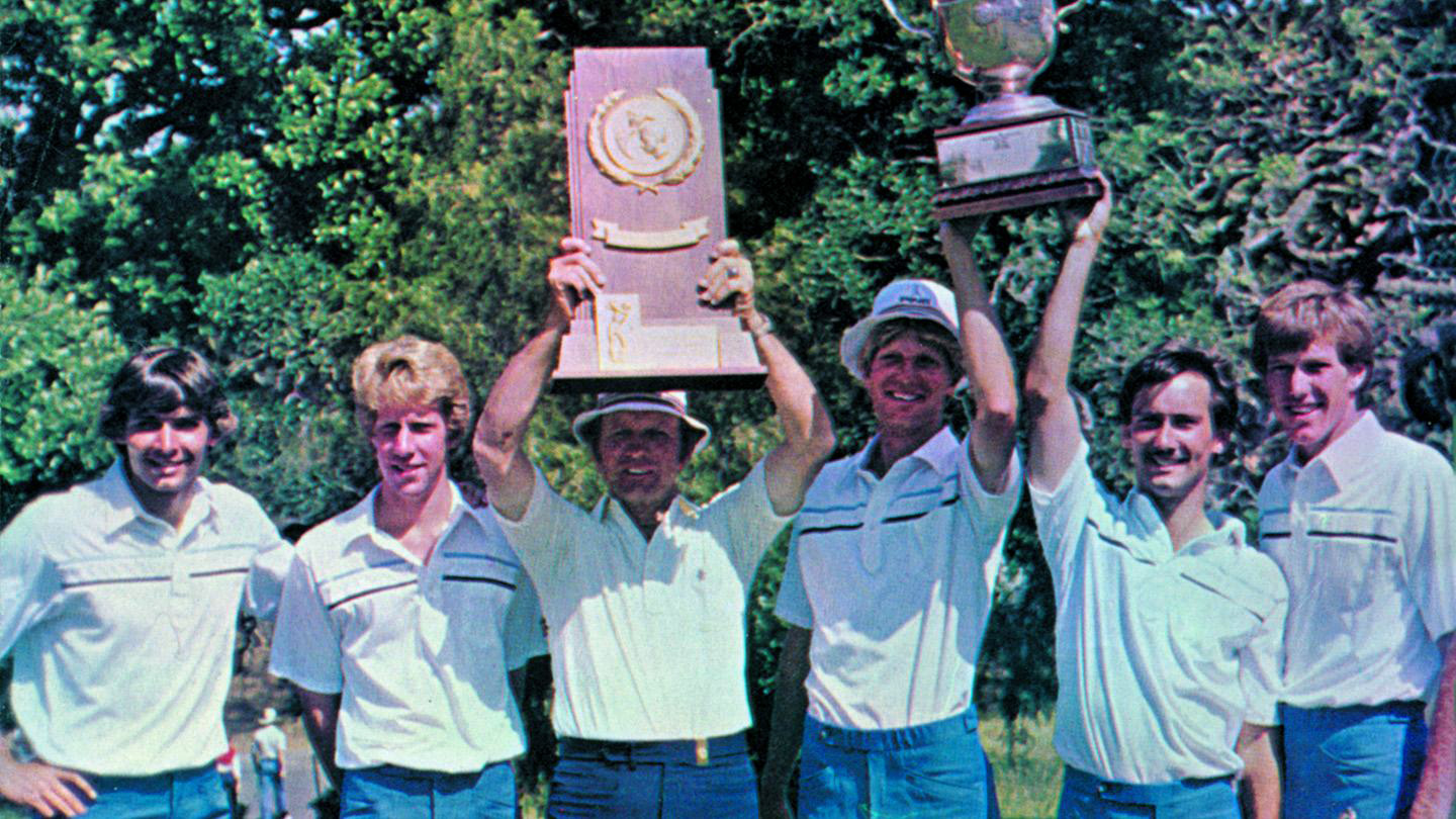 BYU 1984 Golf National Champions