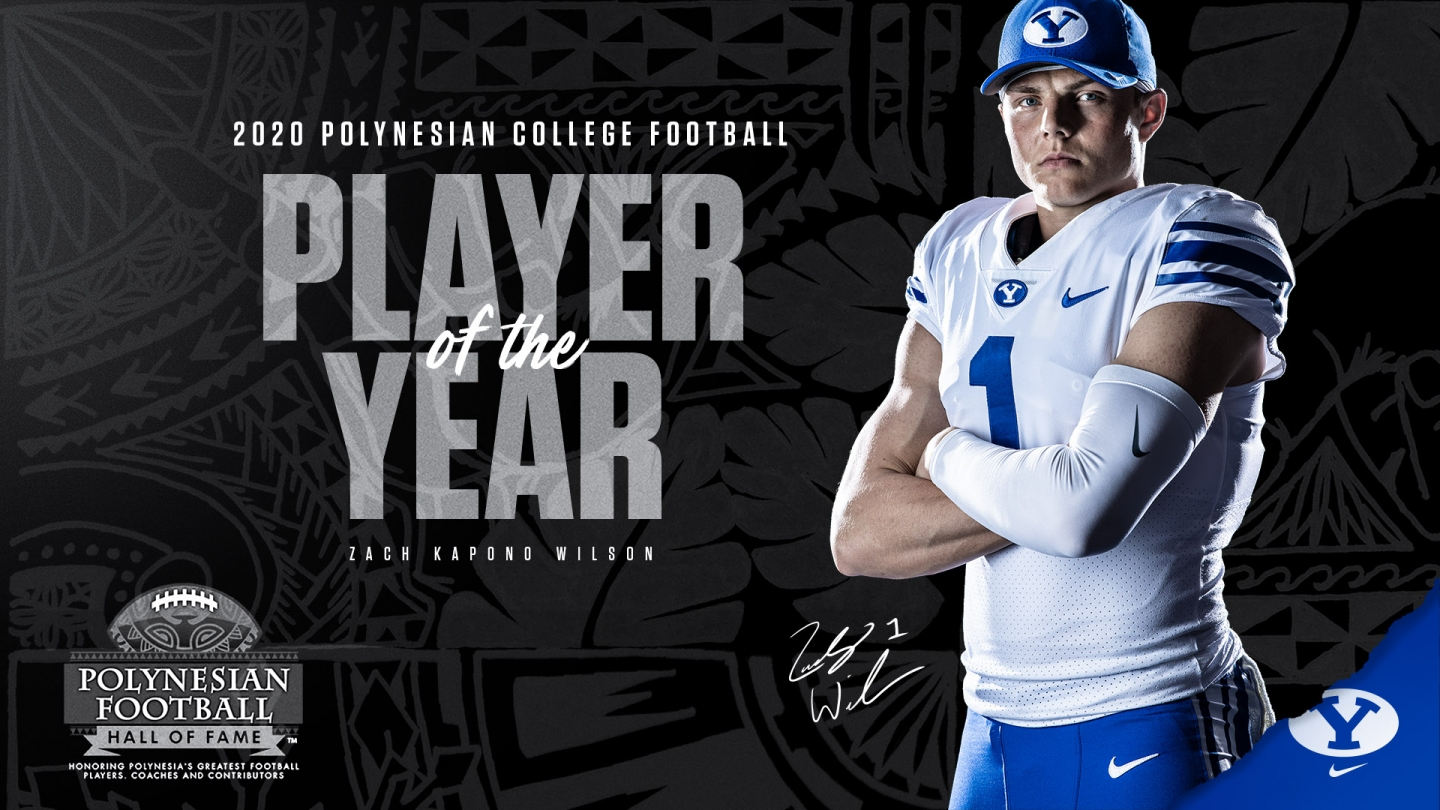 Wilson named Polynesian Player of the Year