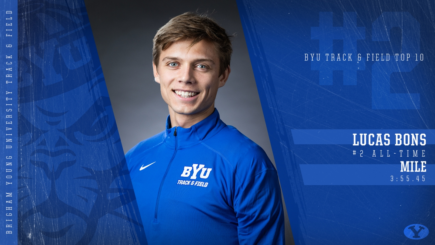 Lucas Bons - BYU Top 10 Graphic