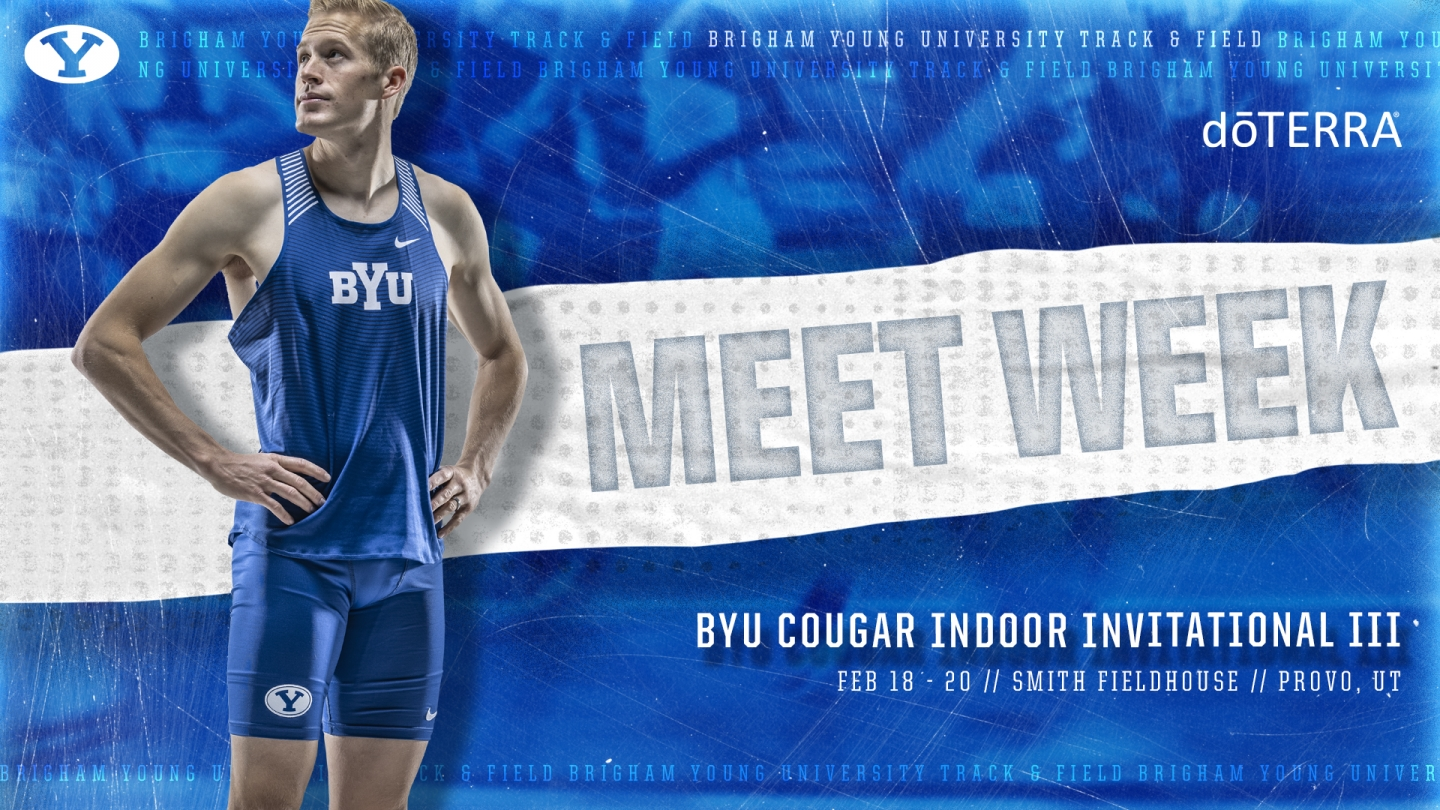 BYU Cougar Indoor Invitational III - Graphic