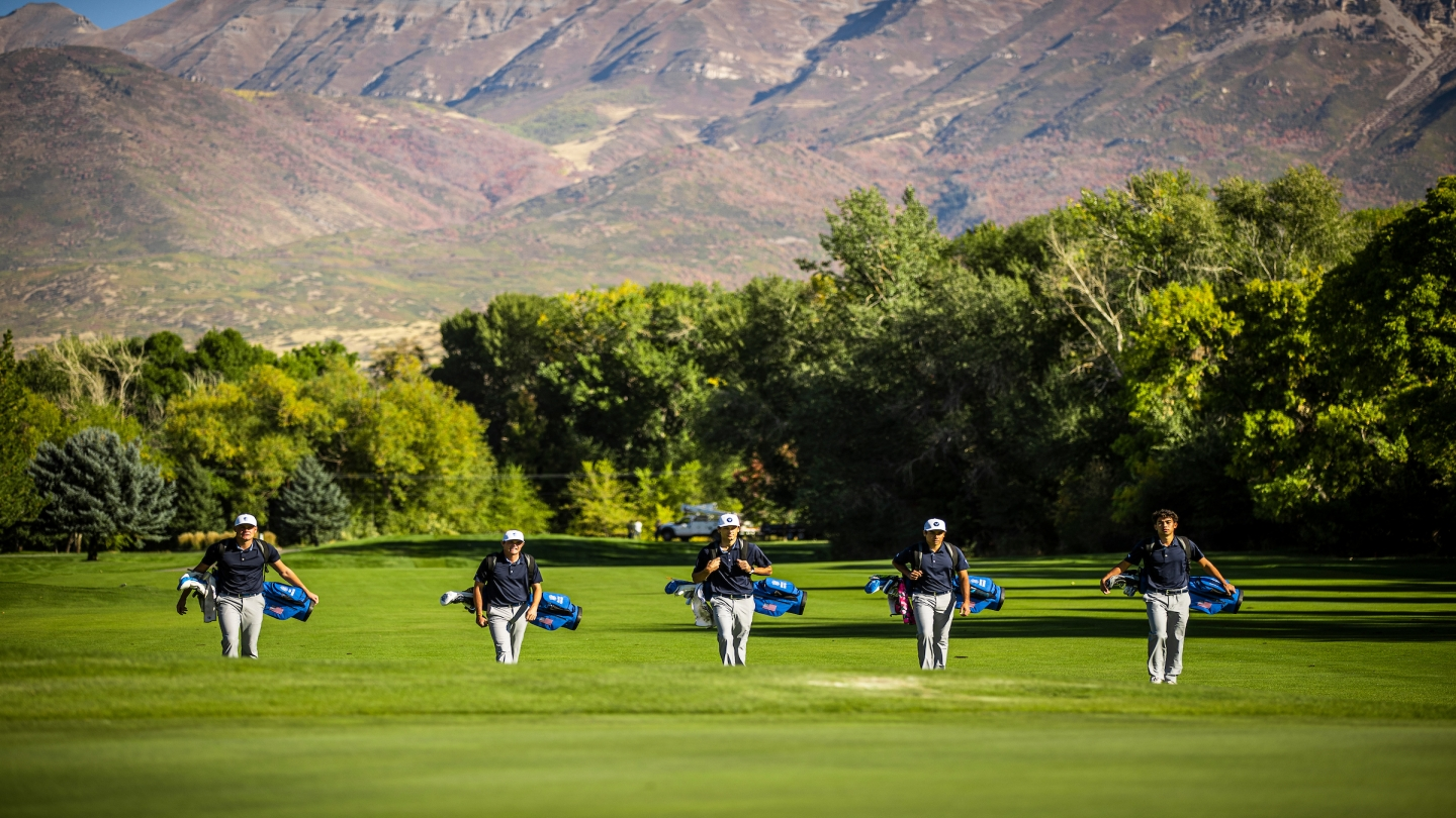 BYU men's golf going out