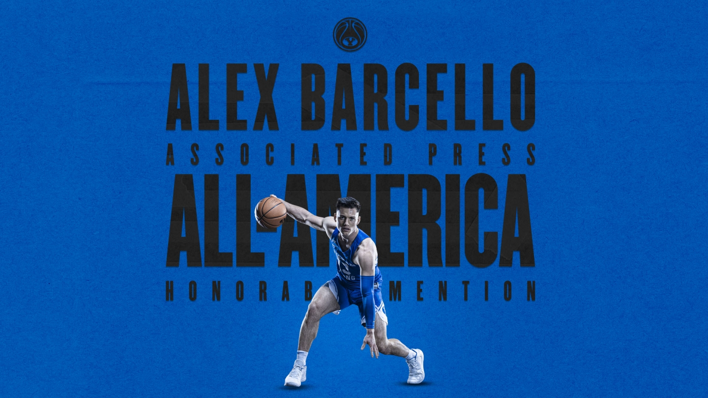 Alex Barcello AP All-America honorable mention graphic