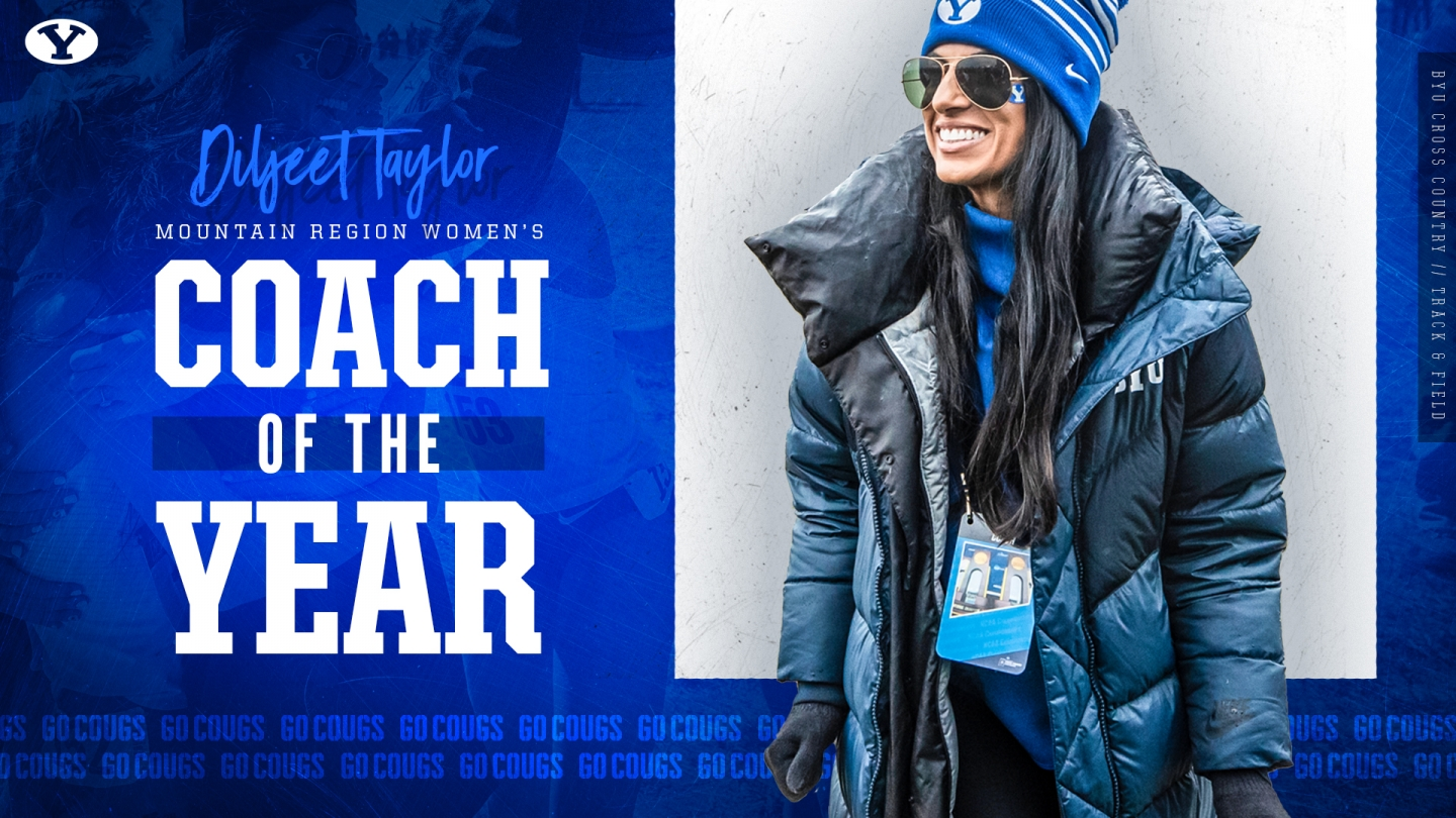 Diljeet Taylor - Women's Cross Country Mountain Region Coach of the Year