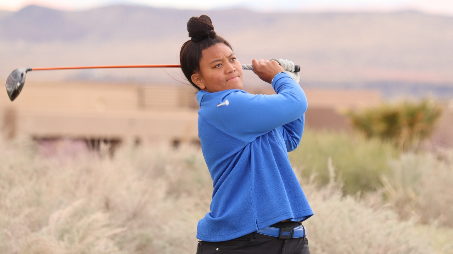 Lila Galeai at the 2021 BYU Spring Classic - credit Randy Dodson Fairways Magazine