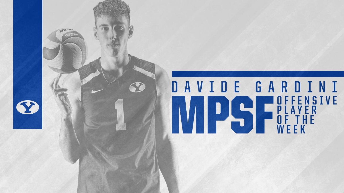 Davide Gardini named MPSF Offensive player of the Week