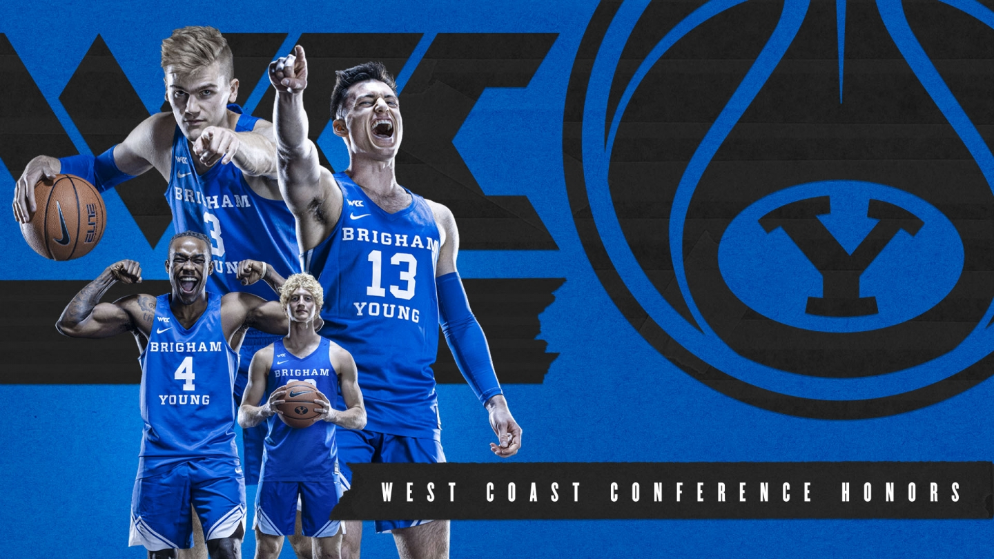 All-WCC Graphic with Averette, Barcello, Haarms and Lohner