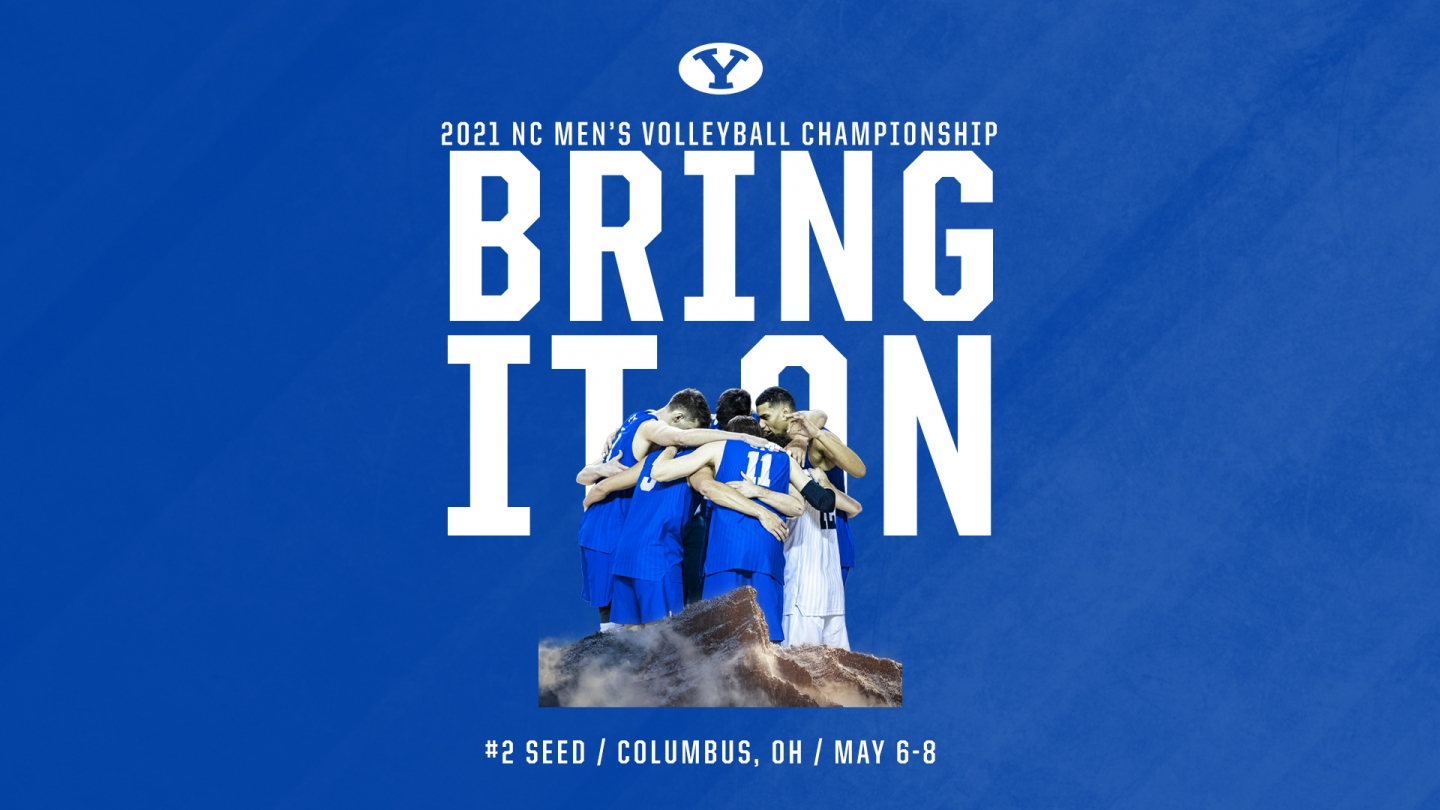 """Bring it on"" NCAA Tournament announcement graphic"