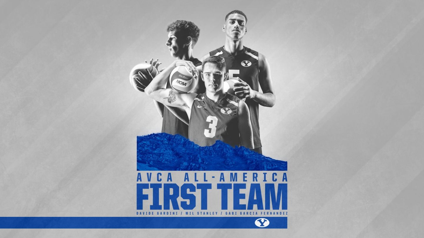 AVCA All america first team selection graphic