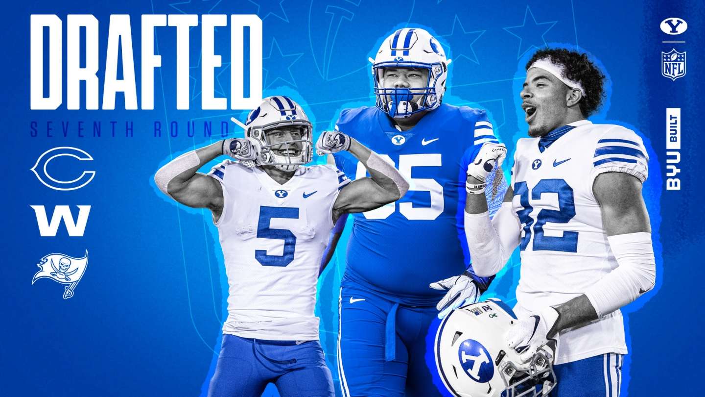 Five BYU players drafted in 2021 NFL Draft