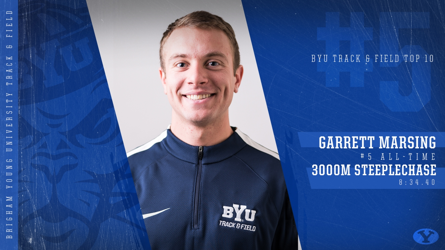 Garrett Marsing - BYU Top 10 Graphic