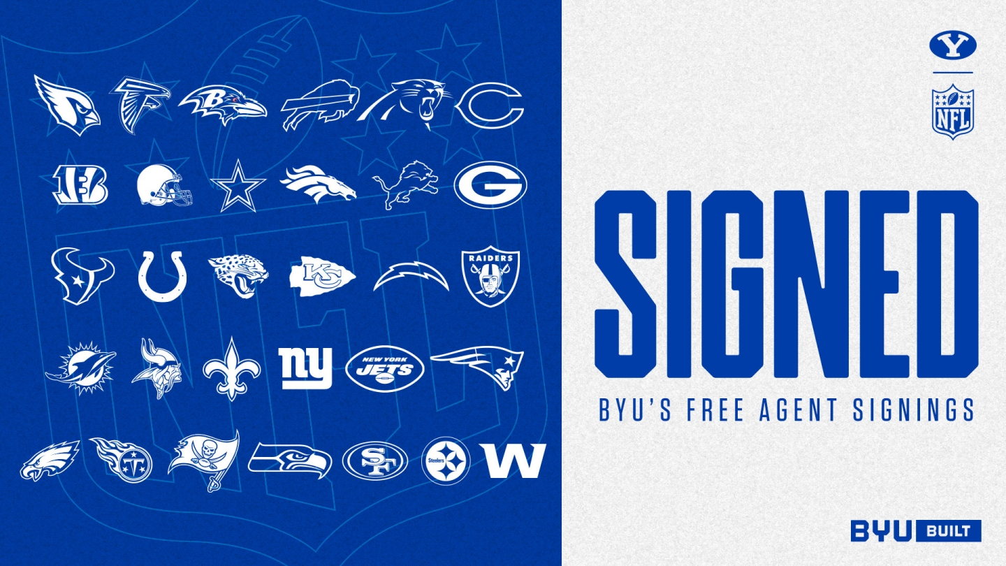 2021 BYU free agent signings