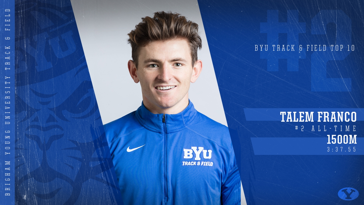 Talem Franco - BYU Top 10 Graphic