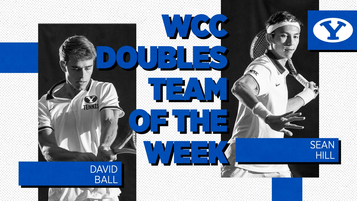 David Ball and Sean Hill named WCC Doubles Team of the Week